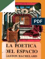 La Poetica Del Espacio