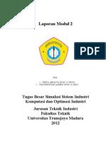 Tugas Besar Simulasi Sistem Industri Modul 2
