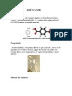 Acid tereftalic