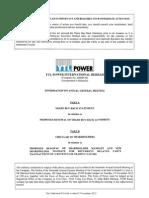 YTL Power Statement_Circular (05 11 2012)