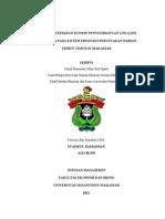 Contoh Skripsi Analisis Penerapan Konsep Penyeimbangan Lini by Syahrul Ramadhan