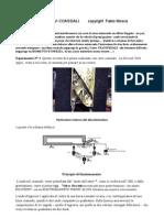 Relazione sintetica sull'anisotropia nel cavo