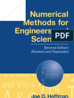 Numerical methods by s.s.sastry