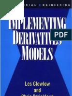 Implementing Derivatives Models