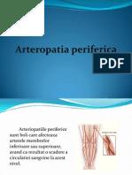ARTERIOPATIA PERIFERICA PPT
