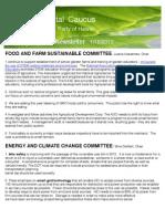 Environmental Caucus Newsletter 1/13/13