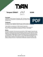 Tyan Tempest i5400XT S5396