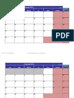 Sesiune Calendar