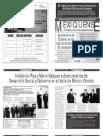 Versión impresa del periódico El mexiquense 15 enero 2013