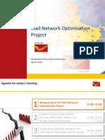 McKinsey- India Post- Mail Network Optimization Project