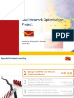 McKinsey- India Post- Mail Network Optimization Project