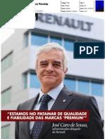 """JOSÉ CARO DE SOUSA, ADMINISTRADOR DELEGADO DA RENAULT PORTUGAL NA """"ANECRA REVISTA"""""""