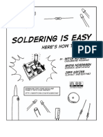 How to Solder Comic