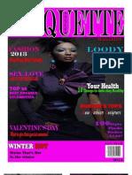 STYLES ETIQUETTE MAGAZINE JAN - MAR 2013 ISSUE 1