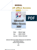 modul access