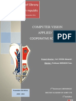 computer vision applied to cooperative robotic