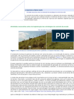 Recuperação de Áreas Degradadas - Erosisão
