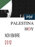 Editoriales Palestina Hoy Noviembre 2012
