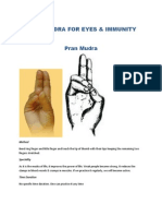 Pran Mudra for Eyes