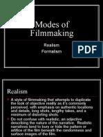 Modes of Filmmaking