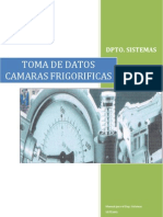 TOMA DE DATOS CAMARAS FRIGORIFICAS