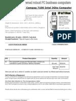 HP 7100 Tower PC DIY 28 units for Small Enterprises Singapore
