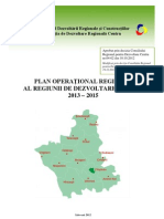 Planul Operational Regionl 2013-2015