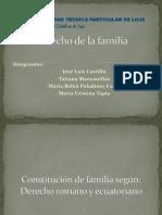 Familia romana y ecuatorina