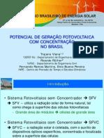 POTENCIAL DE GERA ç âO FOTOVOLTAICA