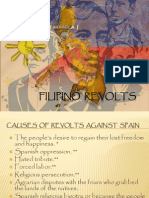 Early Revolts Against Spain | Philippines | Armed Conflict