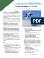 F/A-18E/F Super Hornet and EA-18G Growler