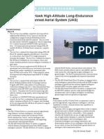 RQ-4B Global Hawk High-Altitude Long-Endurance Unmanned Aerial System (UAS)