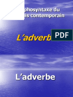 L'adverbe