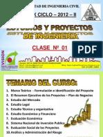 Clase 1 Proyectos 2012 II
