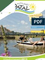 Urlaubsmagazin Mittleres Fuldatal 2013