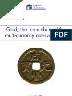 Gold, the Renminbi & Reserve Currencies