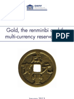 Gold, the Renminbi & Reserve Currencies