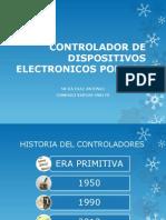 CONTROLADOR DE DISPOSITIVOS ELECTRONICOS POR VOZ