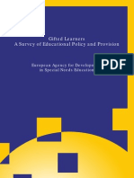 5 EU Agency for Develop of Gifted Ed Inclusion 2009