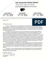 Reference Letter from Frank Marsh