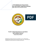 Directory of Establishments