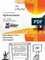 Introduction to QuickBooks for Farmers