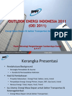 Outlook Energy Indonesia 2011