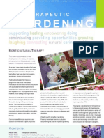 Horticultural Therapy for nursing home and Daycare services