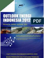 Energy Outlook Indonesia 2012