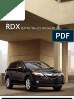 2013 RDX Factsheet