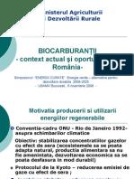 biocombustibili in Romania