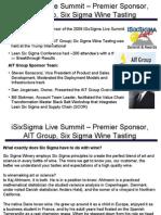 iSixSigma Live Summit Six Sigma Wine Tasting 5