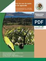 cambio uso suelo zona aguacatera Michoacan