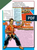 black belt comic issue 6